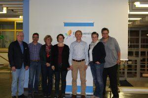 v.l.n.r. Axel Schulze, Robert Seifert, Dagmar Strake, Karin Bauer, Thomas Wögerbauer, Sandra Bergmann-Kramer und Gerhard Kramp